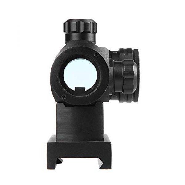 Sniper Airsoft Gun Sight 6 Sniper RD20H Reflex Red Dot Sight Scope 3 MOA with High Profile Rail Mount Fit Picatinny Rail