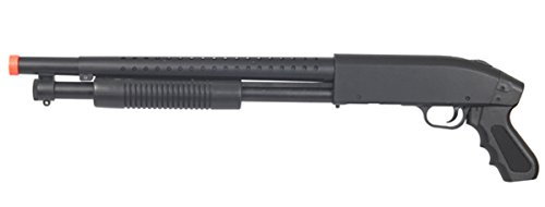 UKARMS  1 High Velocity 400 FPS Sawed Off Pump Shotgun P1799 Spring Power Airsoft Gun