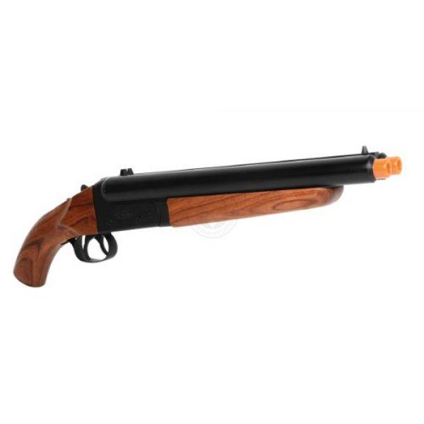 HS  2 300 fps hudson metal double barrel mad max sawed off gas shotgun(Airsoft Gun)