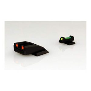 Williams Airsoft Gun Sight 1 Williams 70972 FireSight Pistol S&W M&P Shield Aluminum Green Aluminum Red Black