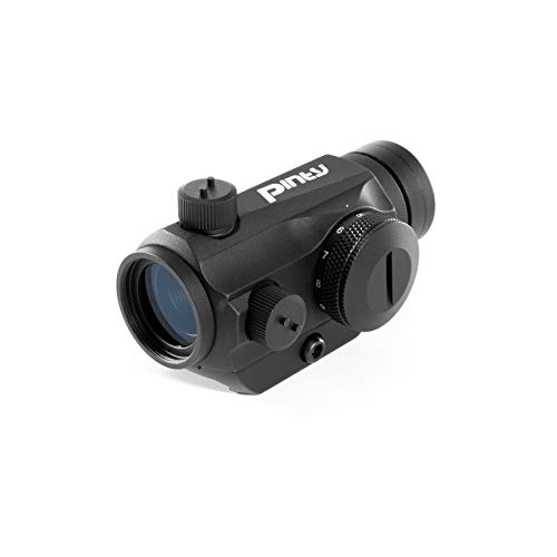 Pinty Airsoft Gun Sight 2 Pinty Pro 1x22mm 3 MOA Red Dot Reflex Sight with Anti-Reflection Devices