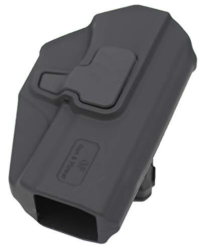 Gun&Flower  3 Gun&Flower OWB Polymer Holster Outside Waistband Concealed Carry Adjustable Ride/Cant/Retention