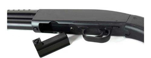 Double Eagle  7 double eagle m58a tactical pump action airsoft shotgun (full stock)(Airsoft Gun)
