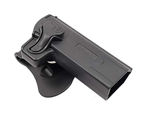 Amomax  1 Amomax Level II Tactical Holster | Fits Airsoft STI Hi-Capa 2011 Series Pistols | Tokyo Marui/WE/KWA