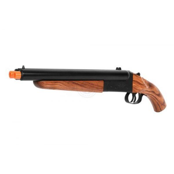 HS  1 300 fps hudson metal double barrel mad max sawed off gas shotgun(Airsoft Gun)