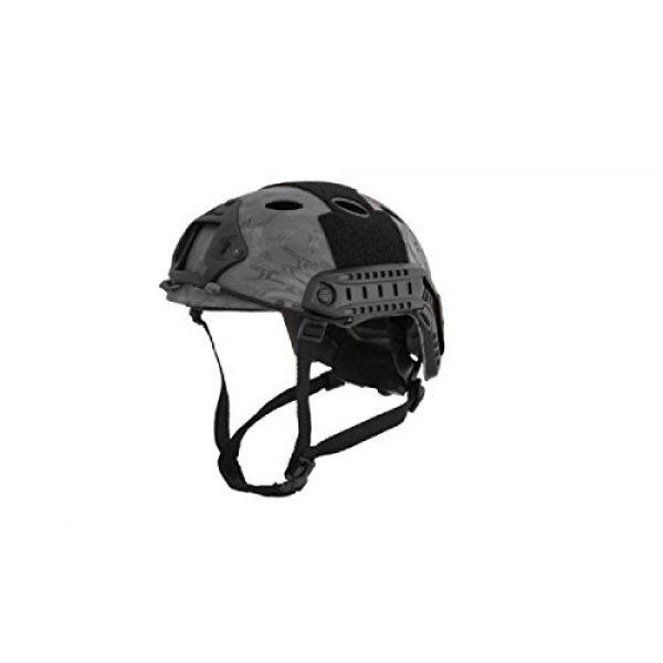 Lancer Tactical Airsoft Helmet 1 Lancer Tactical Airsoft Use Helmet PJ Type - TYP - L/XL