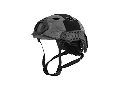 Lancer Tactical Airsoft Helmet 1 Lancer Tactical Airsoft Use Helmet PJ Type - TYP - L/XL