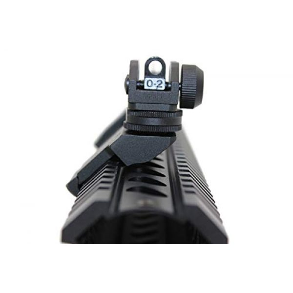 Goyea Tactical Airsoft Gun Sight 3 Goyea Tactical Flip Up Iron Sights for Rifle 45 Degree Offset Rapid Transition Backup Front and Rear Iron Sight BUIS Set