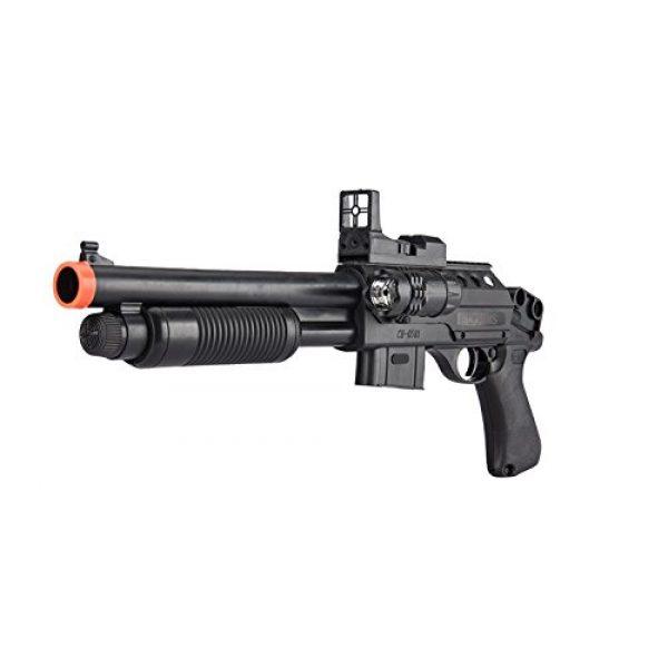UKARMS  1 UKARMS Pump Action Pistol Grip Spring Power Airsoft Shotgun 6mm Gun + Flashlight