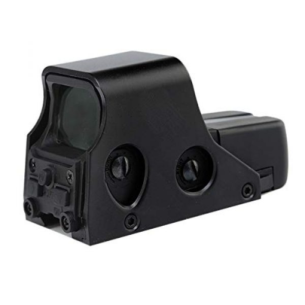 ARWIN Airsoft Gun Sight 3 ARWIN Holographic Red Dot Sight - NV Compatible Reflex Red Green Dot Sight Adjustable Brightness for Shooting Hunting