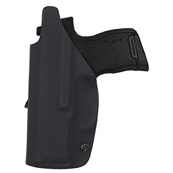 IWB KYDEX Holster Fit: Sig Sauer P365 / P365 SAS Pistol 9mm holster Concealed Carry   Inside Waistband   Adjustable Cant   US KYDEX Made - Point Touch