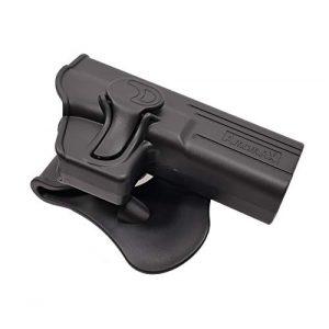 Amomax  1 Amomax Level II Tactical Holster | Fits Airsoft Glock 17/22/ 31 | KWA ATP Series | APS ACP Series