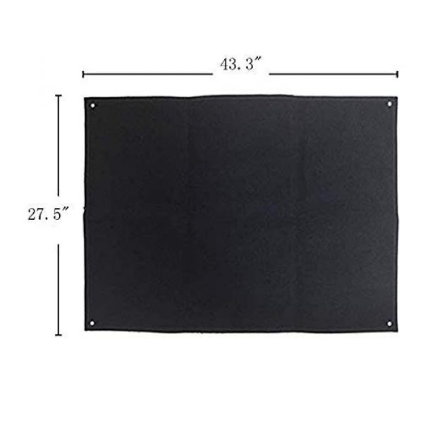 Homiego Airsoft Patch 2 Homiego Moarle Patch Display Board Patch Holder Display Frame for Tactical Airsoft Military Patches (L)