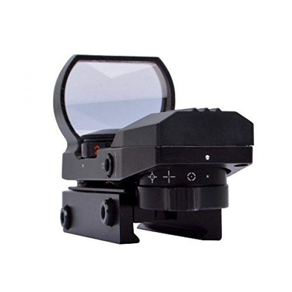 360 Tactical Airsoft Gun Sight 5 360 Tactical Tactical 4 Reticle Red Dot Open Reflex Sight With Weaver Pica Tinny Rail Mount