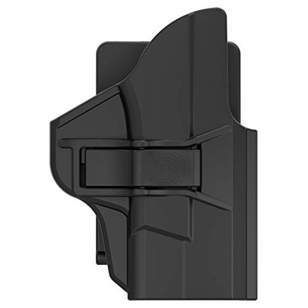 Tactical Outside Waistband Pants Belt Holster Fits Smith and Wesson M&P Shield 9mm/.40 3.1'' Barrel Holder