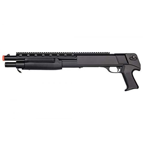 Double Eagle  1 Double Eagle M309 Plastic Pump Action Airsoft Shotgun - Black