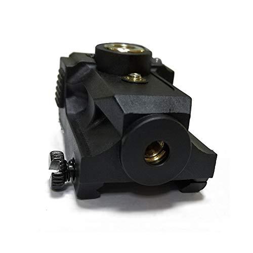 New Compact Pistol Laser Fit Standard Picatinny Rail Gun Low Profile Pistol Dot Sight Magnetic Charging Handgun Laser Tactical Sights Airsoft Laser