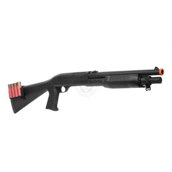 UKARMS  2 400 fps agm airsoft m500 m183a2 tactical shell fed spring airsoft shotgun(Airsoft Gun)