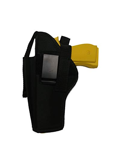 PRO TACTICAL  2 PRO TACTICAL Gun Holster Belt Clip OWB with Extra Magazine Pouch for Ruger 57