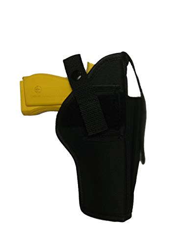PRO TACTICAL  1 PRO TACTICAL Gun Holster Belt Clip OWB with Extra Magazine Pouch for Ruger 57