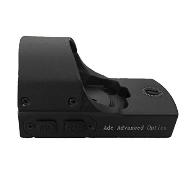 Ade Advanced Optics Airsoft Gun Sight 7 Ade Advanced Optics RD3-011-1 Premium Grade 1x22x33 Red Dot NV Night Vision Dot Sight