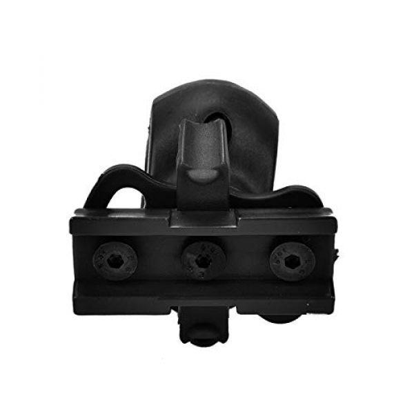 Armorwerx Airsoft Helmet 2 Armorwerx Rotating Flashlight Mount for Tactical Helmet