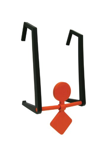 Champion Traps and Targets Airsoft Target 1 Champion DuraSeal Double Hanging Spinner Target (Orange)