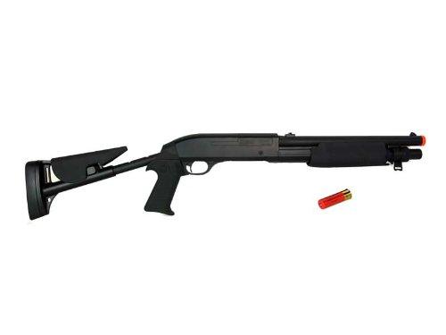 Double Eagle  2 Double Eagle M56C Tri-Shot (3 Shots) Spring Shotgun Retractable Stock