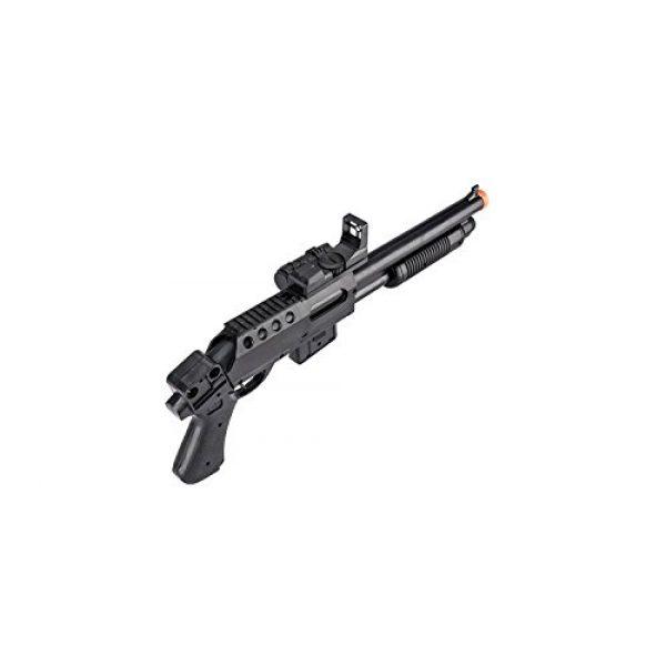 UKARMS  5 UKARMS Pump Action Pistol Grip Spring Power Airsoft Shotgun 6mm Gun + Flashlight