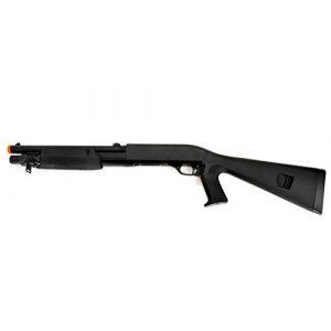 Double Eagle  1 Double Eagle DE M3 Multi-Shot Triple Burst Airsoft Tactical Shotgun - Full Stock
