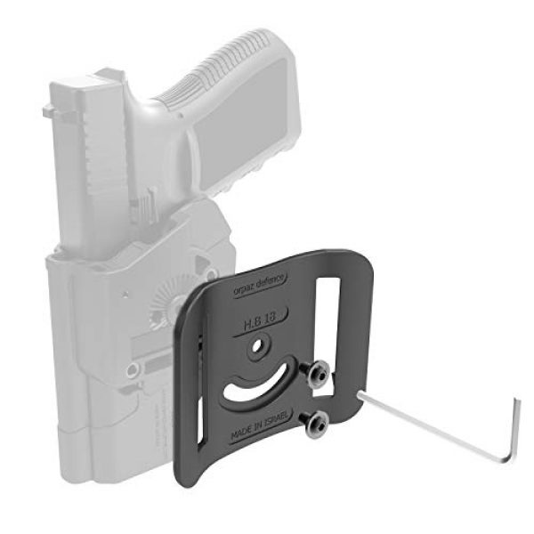 Orpaz  2 Orpaz Adapters and Attachments for Gun Holsters and Other Accessories