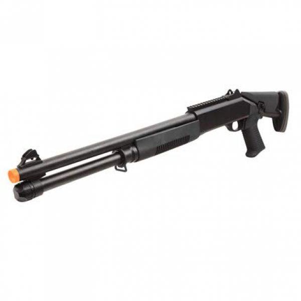 BBTac  2 BBTac Airsoft Shotgun BT-M56C Tri-Barrel Triple Shot Spring Loaded Pump Action