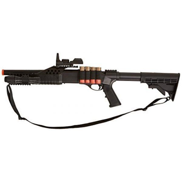 BBTac  1 BBTac BT-BT180C2 Pump Action RIS Airsoft Shotgun with Retractable LE Stock