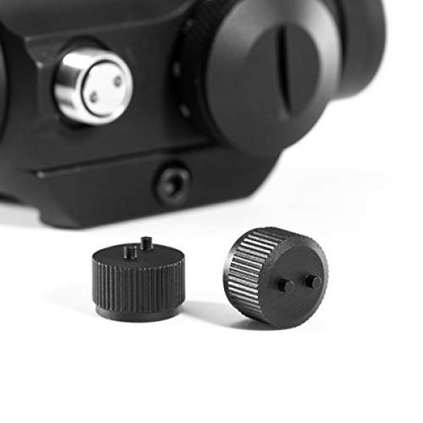 Pinty Airsoft Gun Sight 3 Pinty Pro 1x22mm 3 MOA Red Dot Reflex Sight with Anti-Reflection Devices