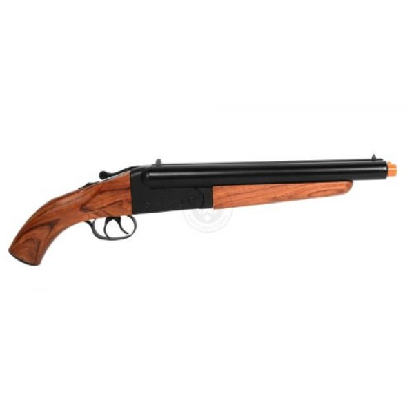 HS  4 300 fps hudson metal double barrel mad max sawed off gas shotgun(Airsoft Gun)
