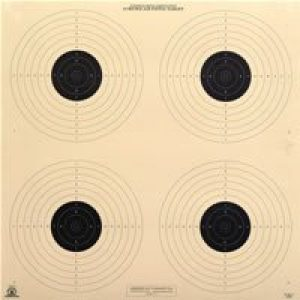 HA Outlet Airsoft Target 1 HA Outlet 10 Meter Shooting Target - Official NRA B 40/4 - Air Pistol - Rifles - Pistols