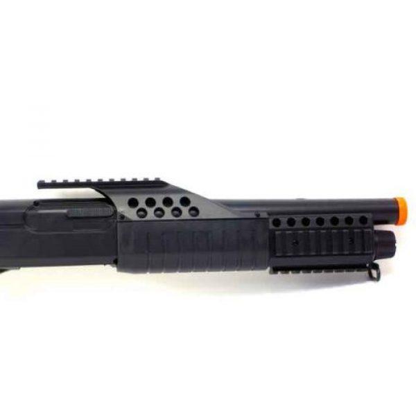 BBTac  3 BBTac Airsoft Shotgun Pump w/ Shells - Flashlight - Red Dot
