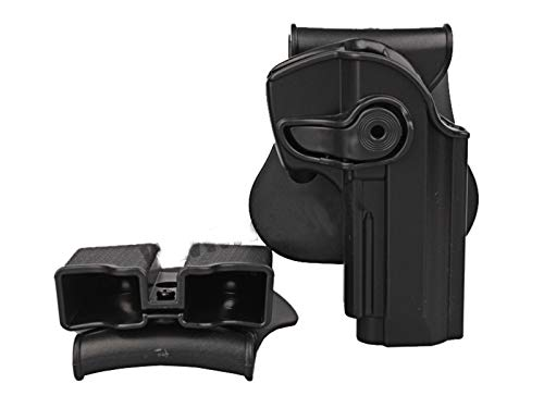 Paintball Equipment  2 Paintball Equipment Polymer Retention Roto Holster Fits Beretta 92 96 M9