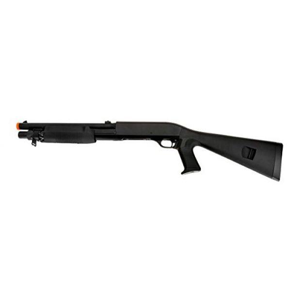 Double Eagle  1 Double Eagle Pump Action Tri-Shot Spring Powered Airsoft Shotgun - High Power 3 Shot Burst