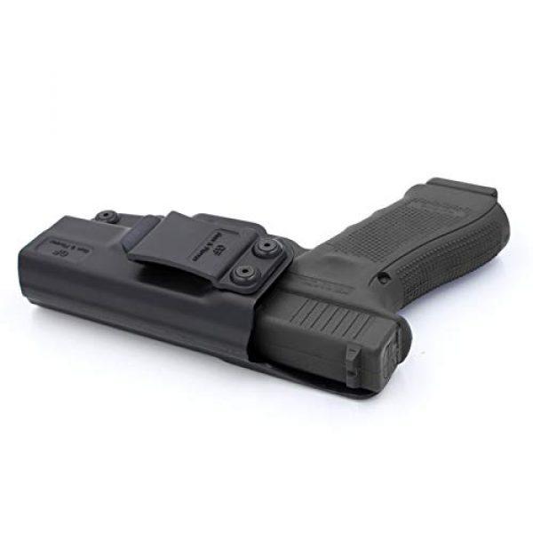 Gun&Flower  4 Gun&Flower Inside Waistband Concealed Carry - IWB Polymer Holster - Adjustable Ride/Cant/Retention