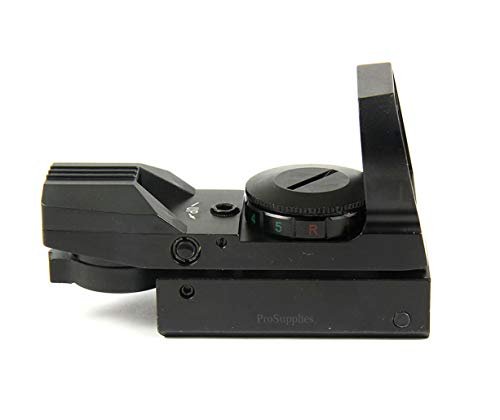 TACFUN Airsoft Gun Sight 2 TACFUN Red and Green Reflex Sight with 4 Reticles