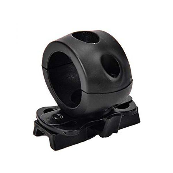 Armorwerx Airsoft Helmet 1 Armorwerx Rotating Flashlight Mount for Tactical Helmet