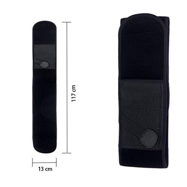UNKNOK  7 UNKNOK Belly Band Holster Fit Most Gun Comfortable Hidden Tactical Holster Left and Right Universal Waistband Handgun Carry for Concealed Carry IWB Gun Holsters for Men and Women