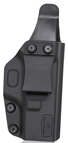 Gun&Flower  5 Gun&Flower Inside Waistband Concealed Carry - IWB Polymer Holster - Adjustable Ride/Cant/Retention