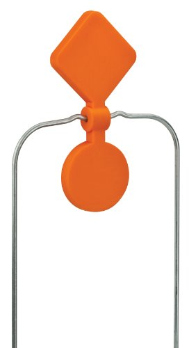 Champion Traps and Targets Airsoft Target 1 Champion DuraSeal Double Spinner Orange Target