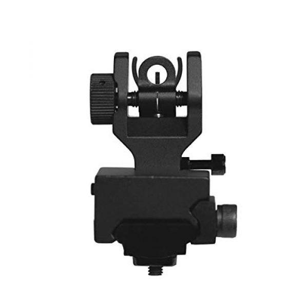 CQ Top Airsoft Gun Sight 2 CQ Iron Sights for Rifle