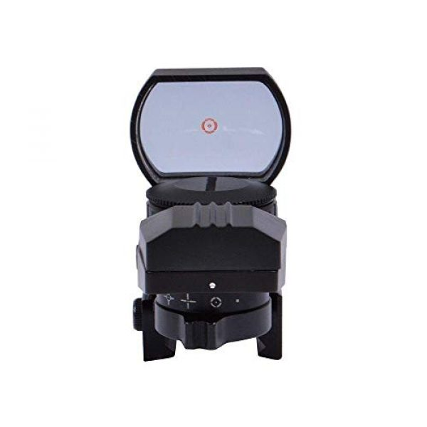 360 Tactical Airsoft Gun Sight 2 360 Tactical Tactical 4 Reticle Red Dot Open Reflex Sight With Weaver Pica Tinny Rail Mount