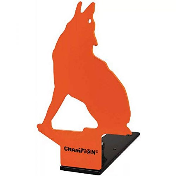Champion Airsoft Target 1 Champion Popup Howling Coyote 22 Rimfire Metal Target