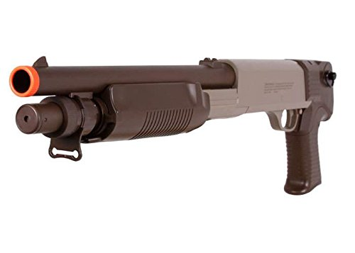 Marines Airsoft  1 marines ss02 triple shot pump shotgun 350 fps (2)(Airsoft Gun)