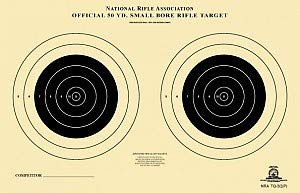 CHLTargets.com Airsoft Target 1 Official TQ-3/2 NRA Target
